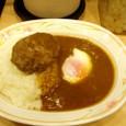『カレーショップ C&C 新宿店』 ハンバーグカレー+ソフトエッグ
