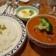 『カフェ ラ・カンパネラ』 チキン&野菜ミックスカリー セット